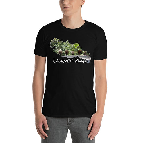Short-Sleeve Unisex T-Shirt - Lasqueti Island