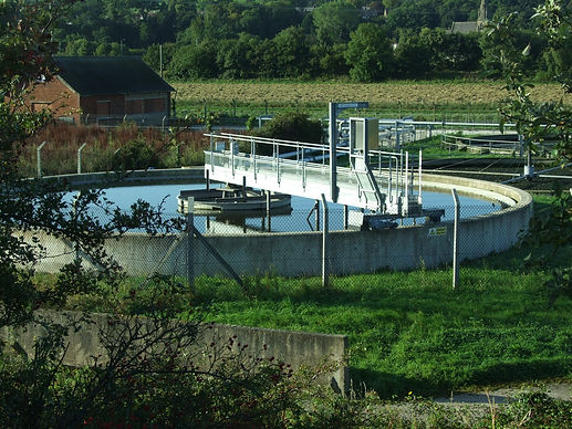 Image of a sewage plant.