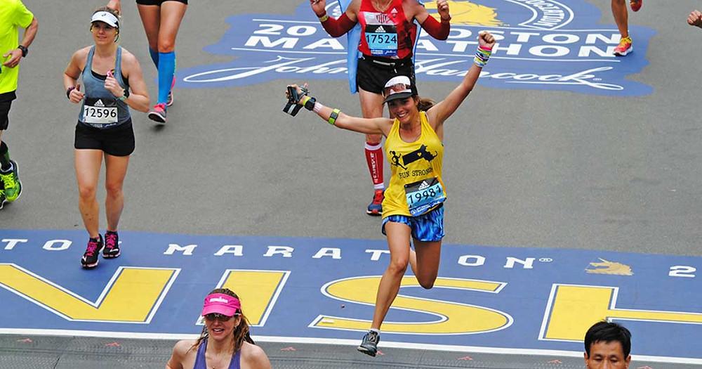 Woman winning the won thing