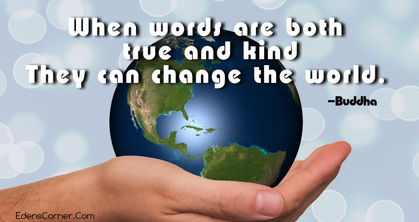 How to Change the World, hand holding the world.