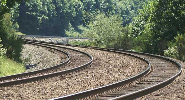 Set of train tracks, Welcome to the Journey.