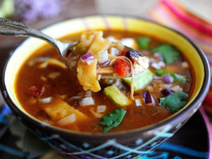 Delicious Fajita Soup