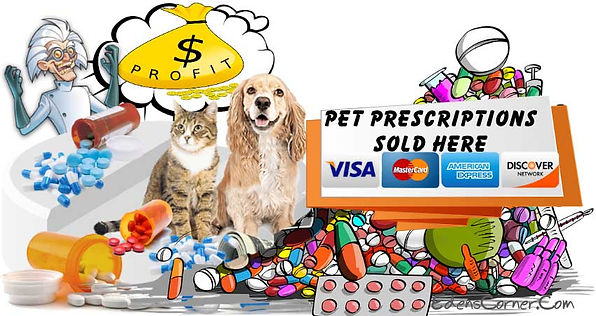 Pet Prescriptions gone wild with a mountain of drugs for a new customer.