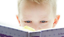 Getting Your Child to Read Boy Reading