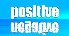 Opisites, positive and nagative.