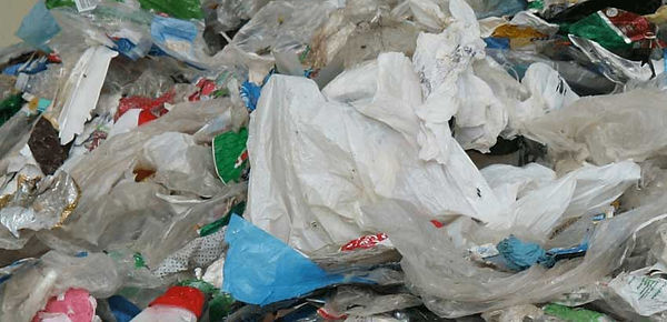 Tons of Plastic Garbage