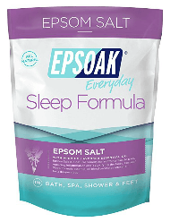 EPSOAK Sleep Formula Epsom Salt sold by Amazon