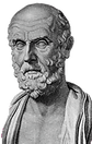 "Hippocrates, Father of Medicine quote ""All disease begins in the gut."""