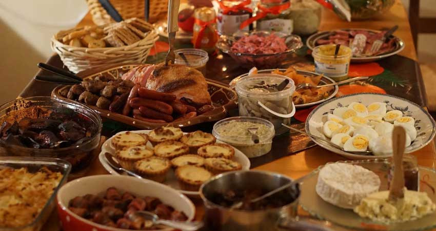 Christmas Part Time Feast!