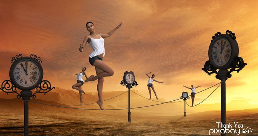 Walking The Great Balancing Act -Life