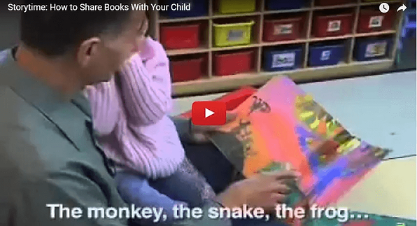YouTube video: Storytime, How to Share Books With Your Child. Getting Your Child to Read