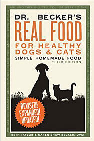 Real Food for Healthy Dogs & Cats, Simple homemade food.