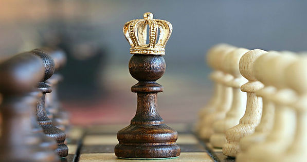 Pawn with a crown.