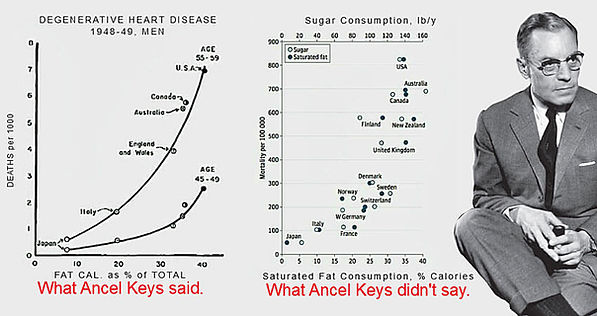 Ancel Keys and his 7 Country Study