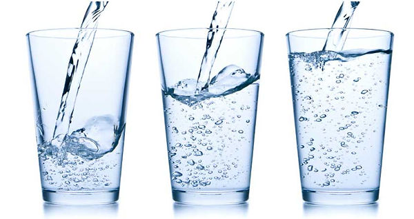 Water Fasting, 3 glasses of fresh water.