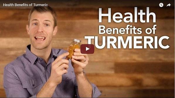 Dr Josh Axe, Youtube video on the Health Benefits of Turmeric.