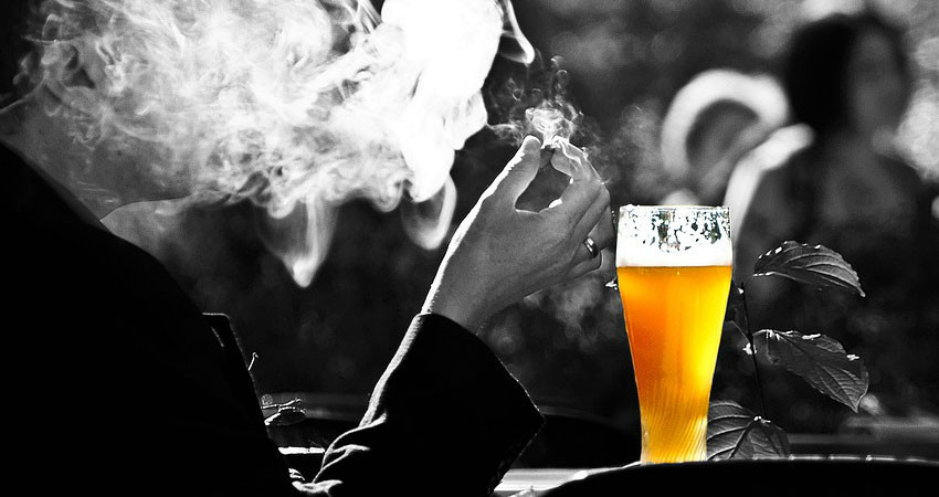 Smoking, Drinking, Lured by Artificial Passion