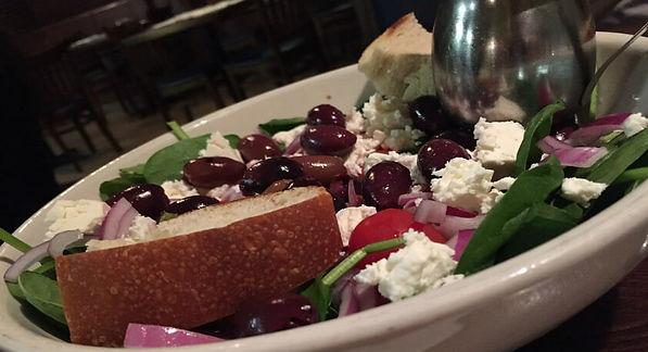 Mediterranean Diet, plate of healthy Mediterranean plate of food.