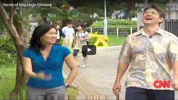 Cnn reporter visit Okinawa aged population.