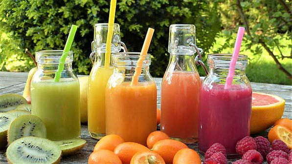 Juice Cleanse for three day with 3 recipes lay out here on the table.