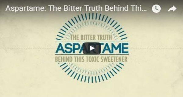 Aspartame: The Bitter Truth Behind This Toxic Sweetener by Dr. Mercola.