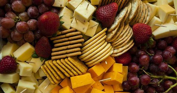Tasty Snacks, variety of snacks.