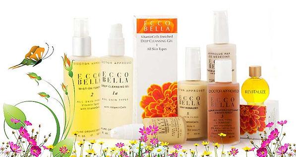 Display of Ecco-Bella Products