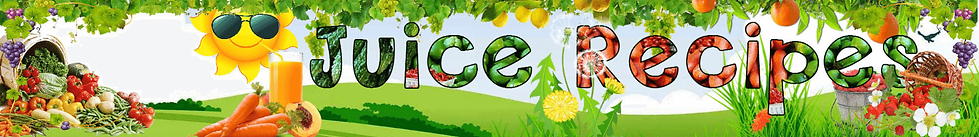 Vegetables, fruits, sun, flowers beautiful natural setting for Juice Recipes by Eden's Corner