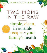 Shari koolikleidich's book, Two Moms In The Raw - simple, clean, irresistiblle recipes for your family's health for sale in Edens Store powered by Amazon