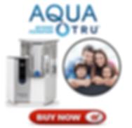 Aqua Tru Filtration advertisement from Eden's Corner.