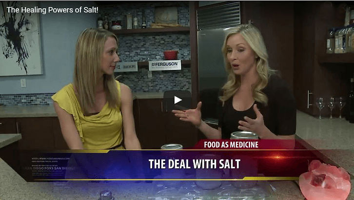 YouTube video with The Whole Journey and the Healing Powers of Salt!