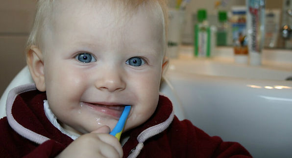 2 year old brushing. Is Toothpaste Harming Your Child?