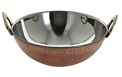 Shalin India Cookware copper.