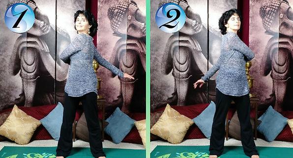 Reni Standing Stretch.