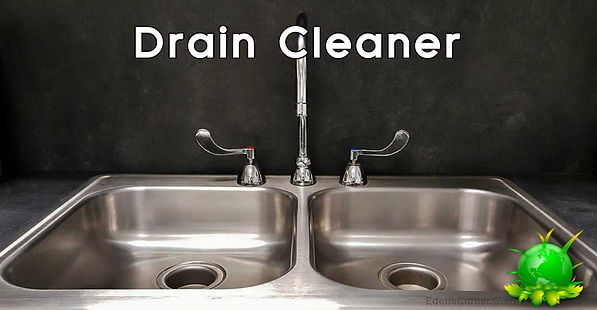 Kitchen sink neet and tidy, Drain Cleaner