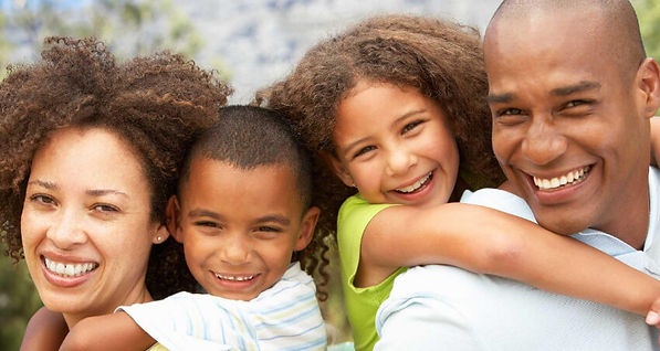 Husband, Wife and Kids. Mindful Parenting