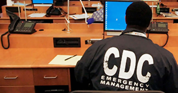 CDC poisoning call center office.