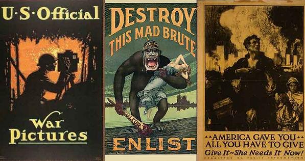 Posters of World War 1, Poster propaganda