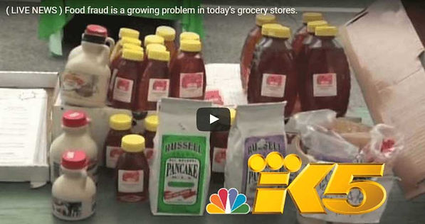 King 5 news, Food Fraud is a growing problem in today's Grocery stores. Youtube video