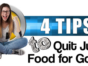 4 Tips to Quit Junk Food for Good
