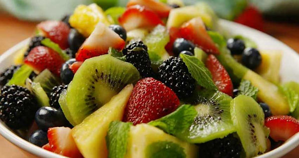 Bowl of Tropical Fruit Salad by Eden's Rrecipes