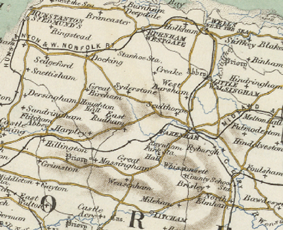 Historical Map of Tattersett