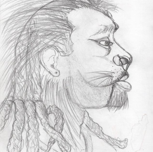 L Virgo_study sketch
