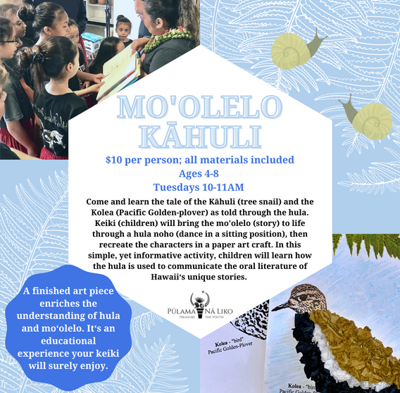 Mo'olelo Kahuli Workshop