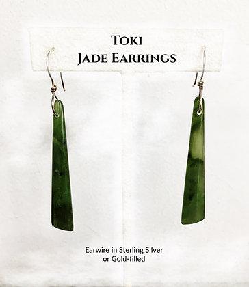 Toki Māori Earrings