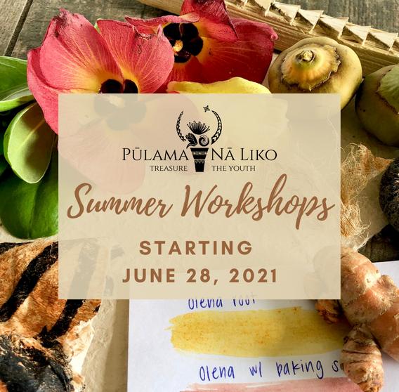Summer 2021 Workshops