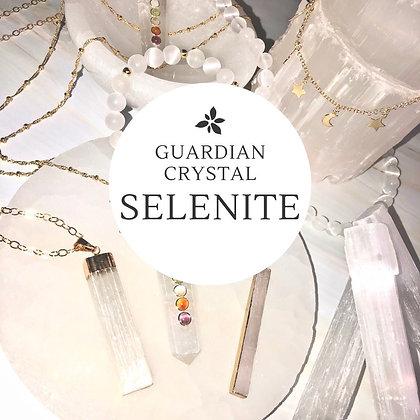 Selenite - Guardian Crystal