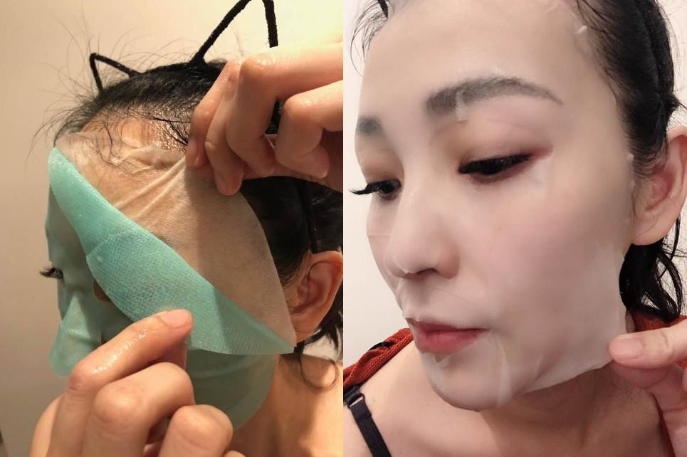 混入真蠶絲的面膜布,通過SGS檢驗,親膚、透氣,能把精華液平均導入肌膚