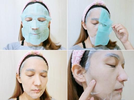 敷完後的肌膚感覺水嫩舒適,舒緩了原本的乾燥粗糙感