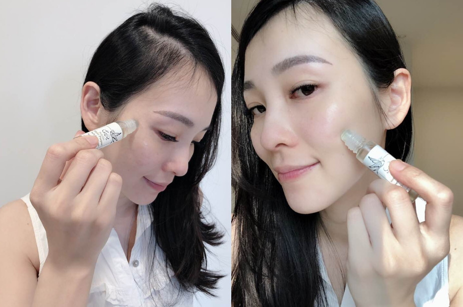 用於臉部可再搭配按摩可減少皺紋、舒緩放鬆